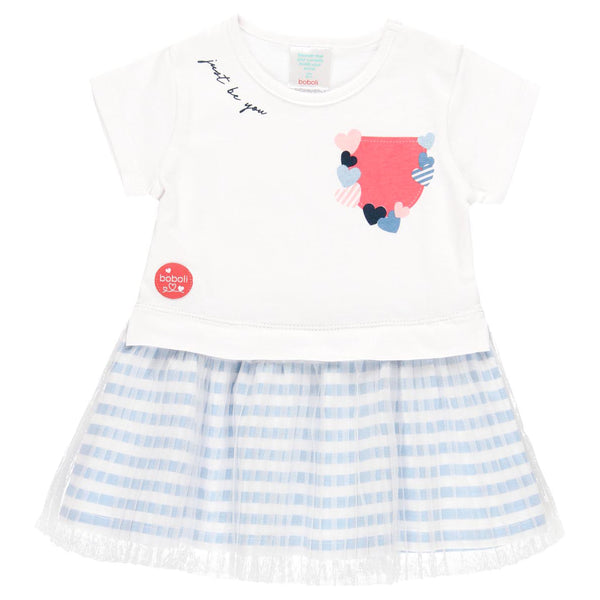 2 Piece Girls Heart Pocket Dress