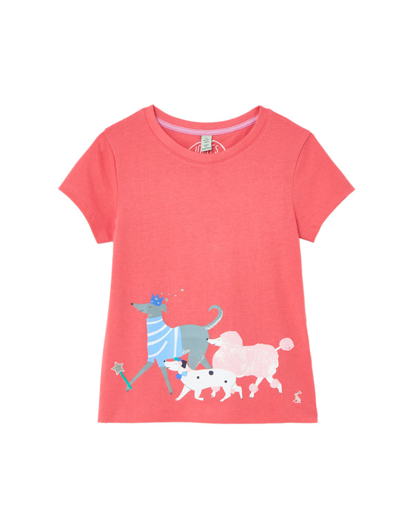 "Girls ""Pixie"" Dog Top"