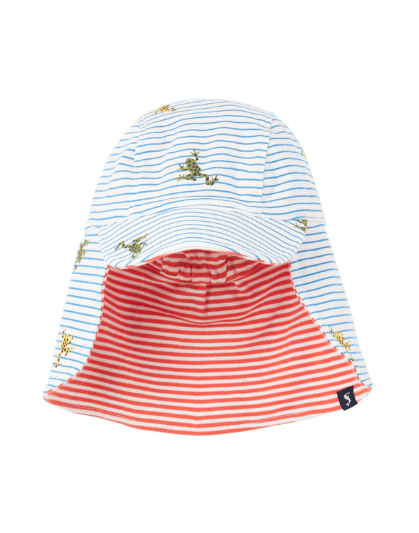 "Boys ""Sonny"" Reversible Hat w/Neck Cover"