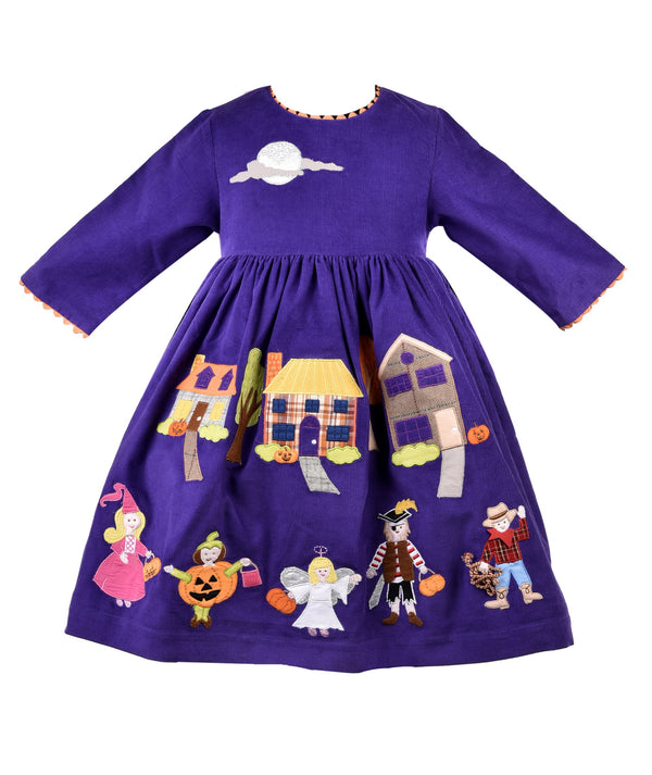 Trick or Treat Embroidery Dress