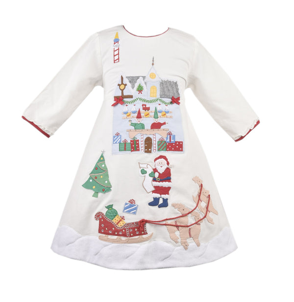 Girls Santa's Workshop Dress