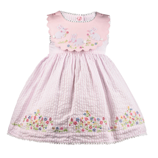 2 Piece Reversible Collar Bunny Dress