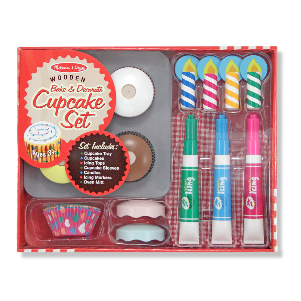 CUPCAKE BAKE & DECORATE SET