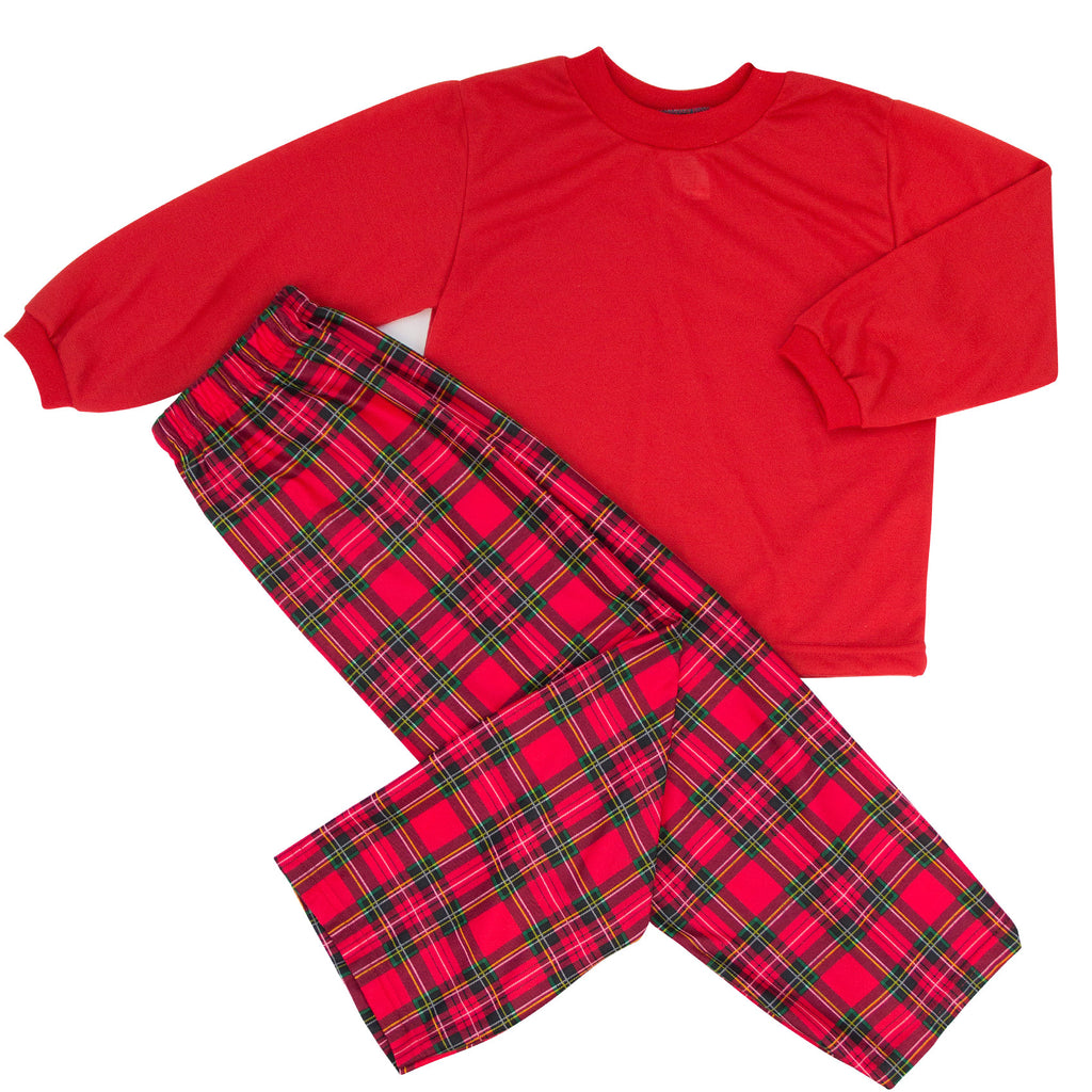 2PC BOYS DEWARS PLAID PJ