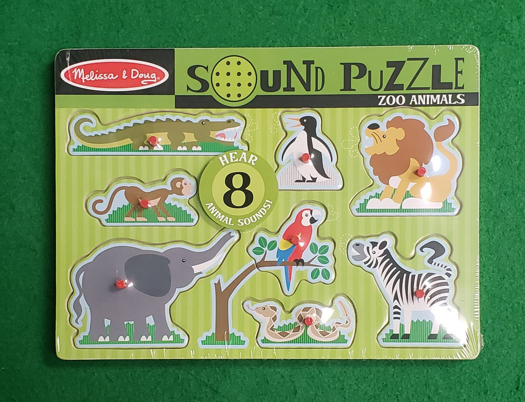 Zoo Animal Sounds Puzzle