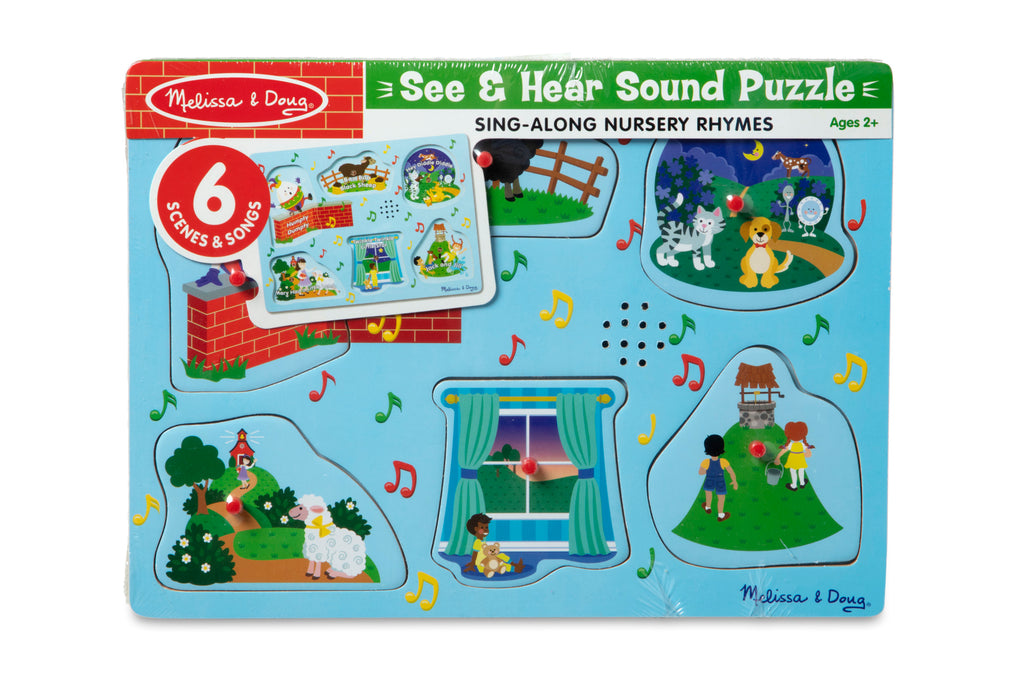 NURSERY RHYMES 2 SOUND PUZZLES