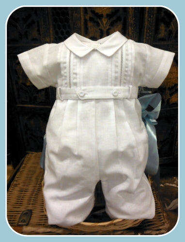 1PC CHRISTENING ROMPER