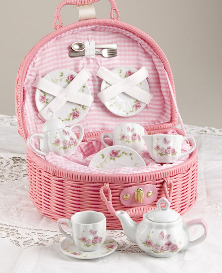 Pink Blush Tea Set