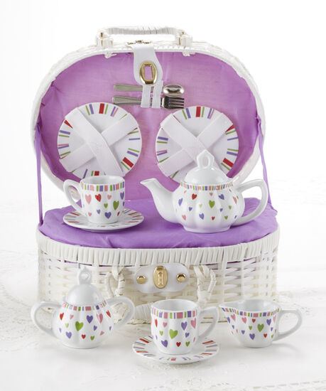 Multi-Heart Tea Set