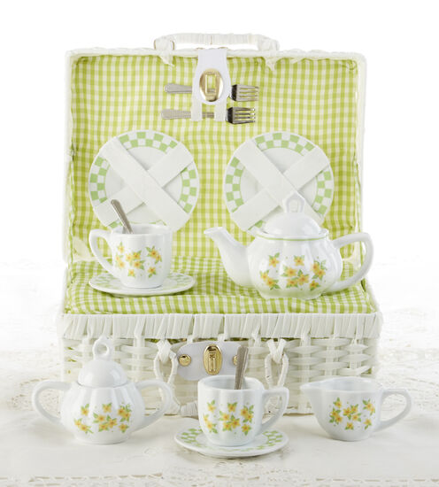 Yellow Sue Tea Set