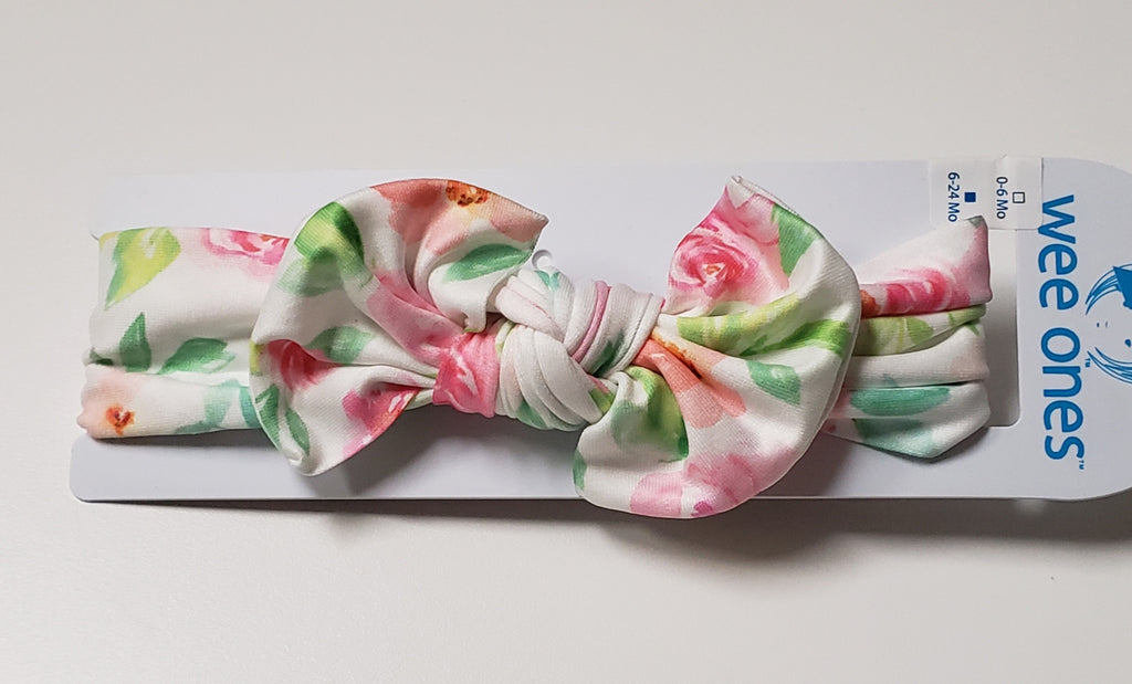 FLOWER BOW HEADBAND