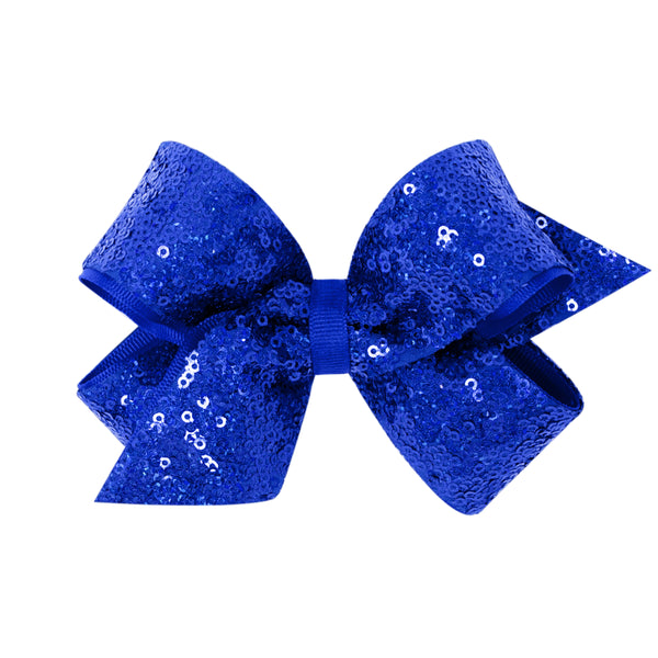 Med Sequin Overlay Bows (Click for colors)