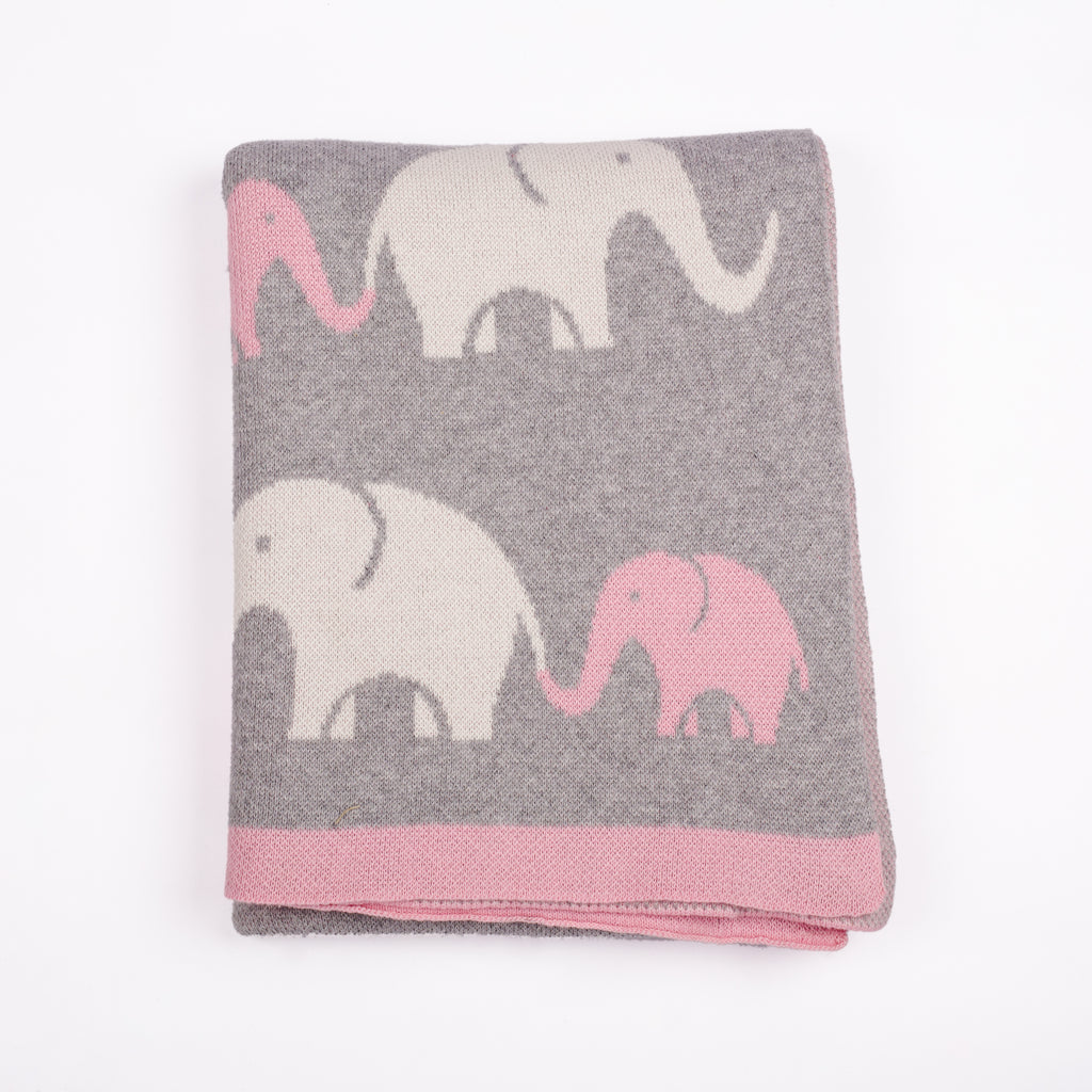 ELEPHANT BLANKET (Click for colors)