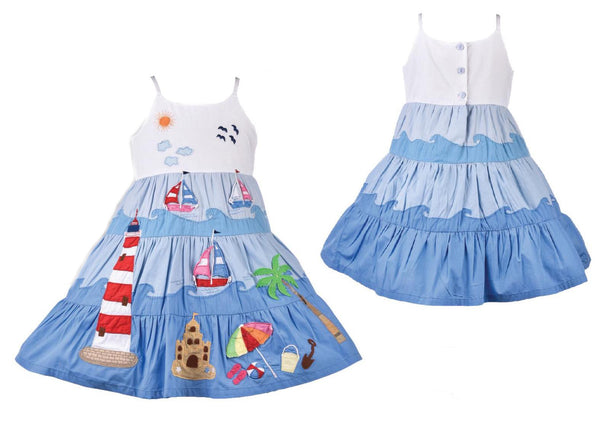 Girls Beach Dress