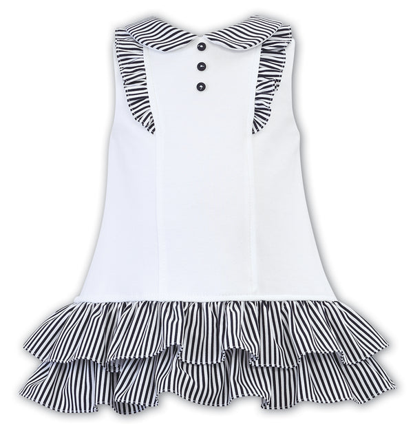 Girls Ruffle Accent Dress