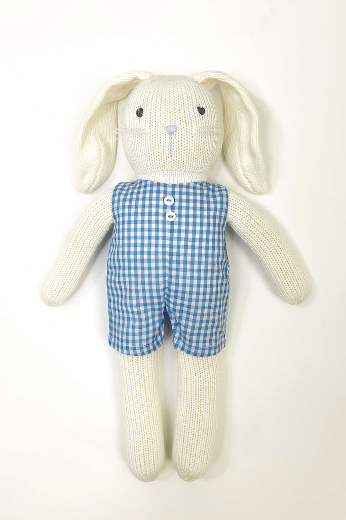 Knit Stuffed Bunny (Click for options)