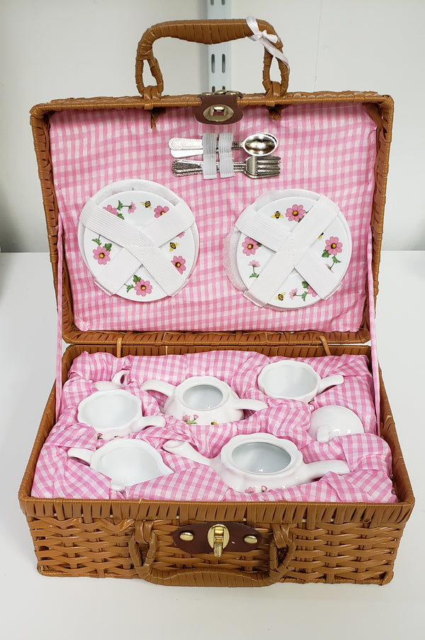 Multi Daisy Tea Set