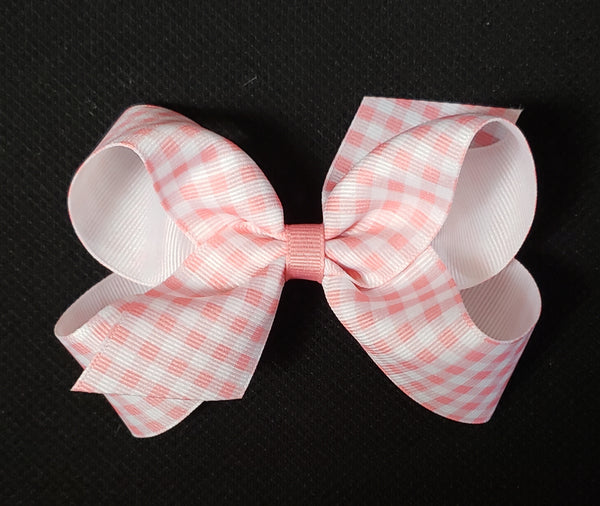 Gingham Print Bows (Click for colors)