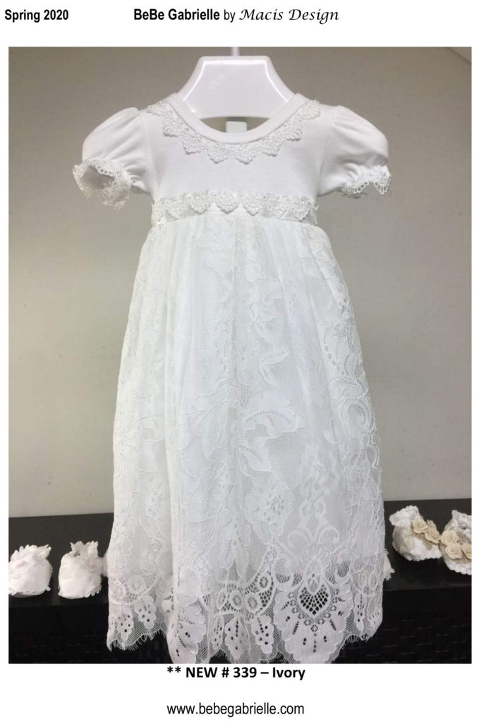 2PC Lace Overlay Dress