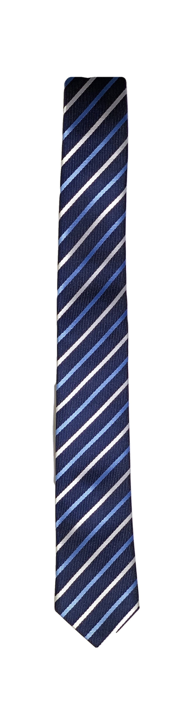 "TIE BOYS STRIPED, 48"" LONG"