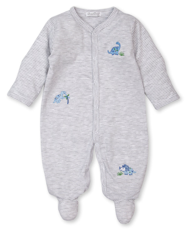 2 Piece Boys Happysaurs Footie w/Hat