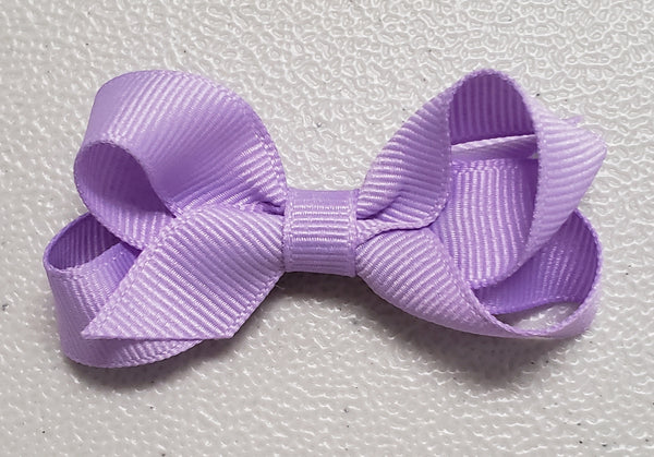 Baby Grosgrain Bow (Click for colors)