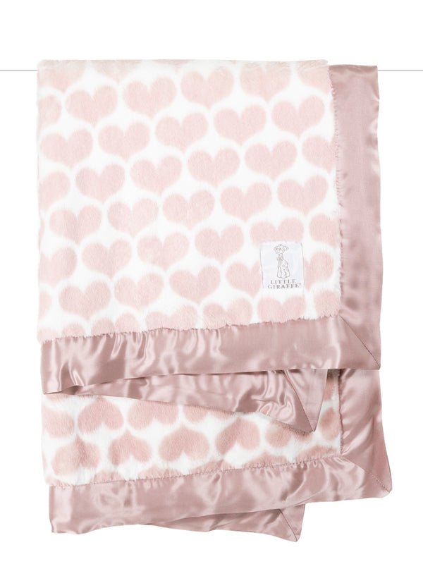 Luxe Heart Army Blanket