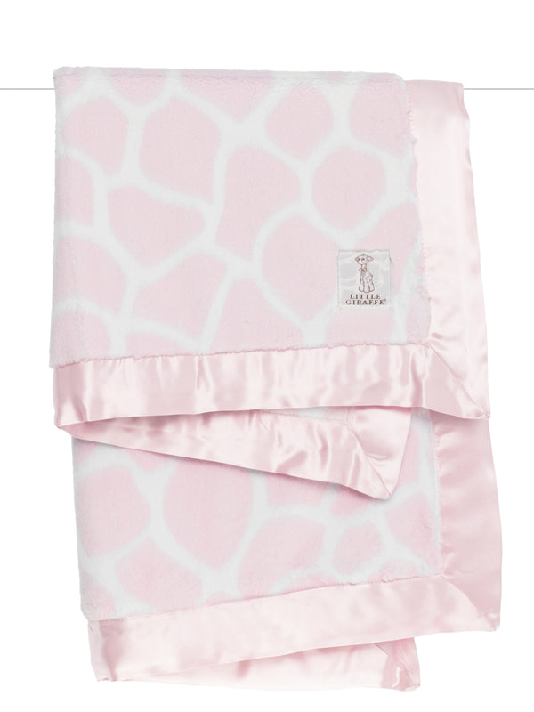 Luxe Giraffe Print Blanket (Click for Colors)