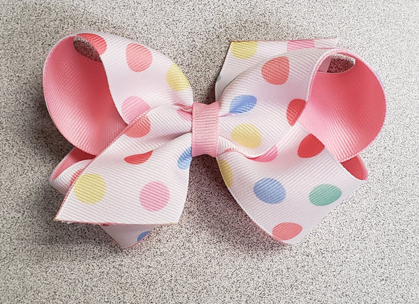 Summer Print Overlay Bows (Click for patterns)