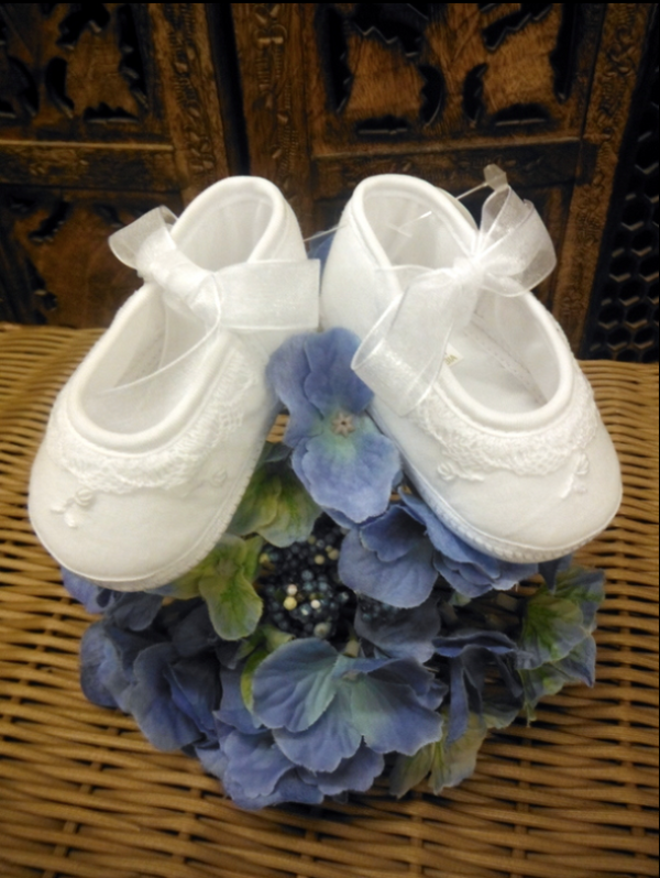 Sweet Christening Shoes