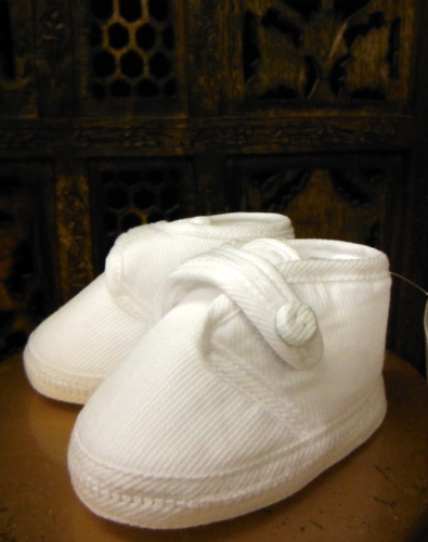 Christening Velcro Shoes