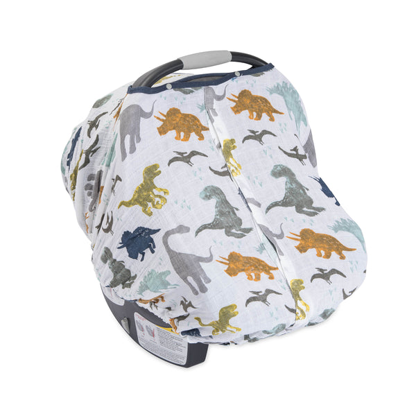 Car Seat Cover Dino Friends