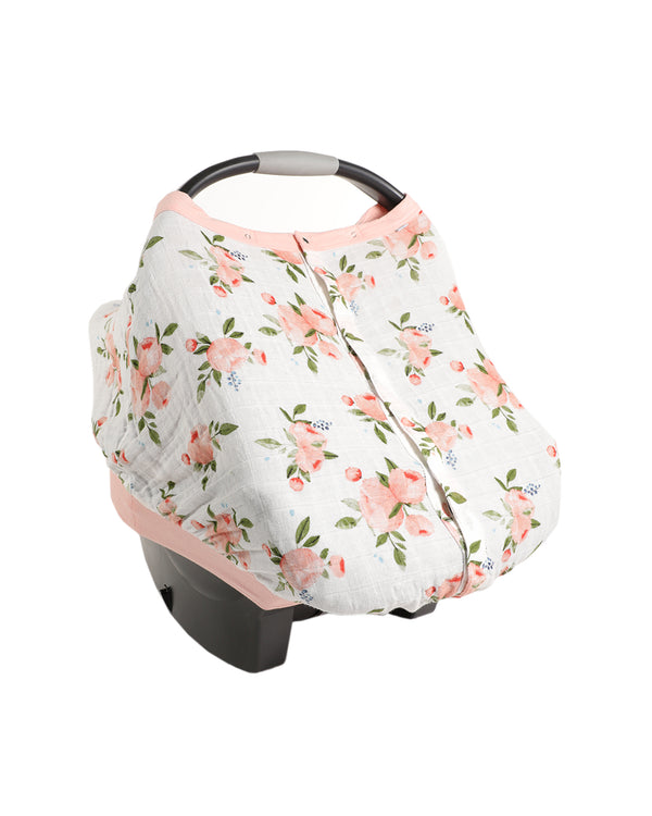Car Seat Cover Watercolor Roses