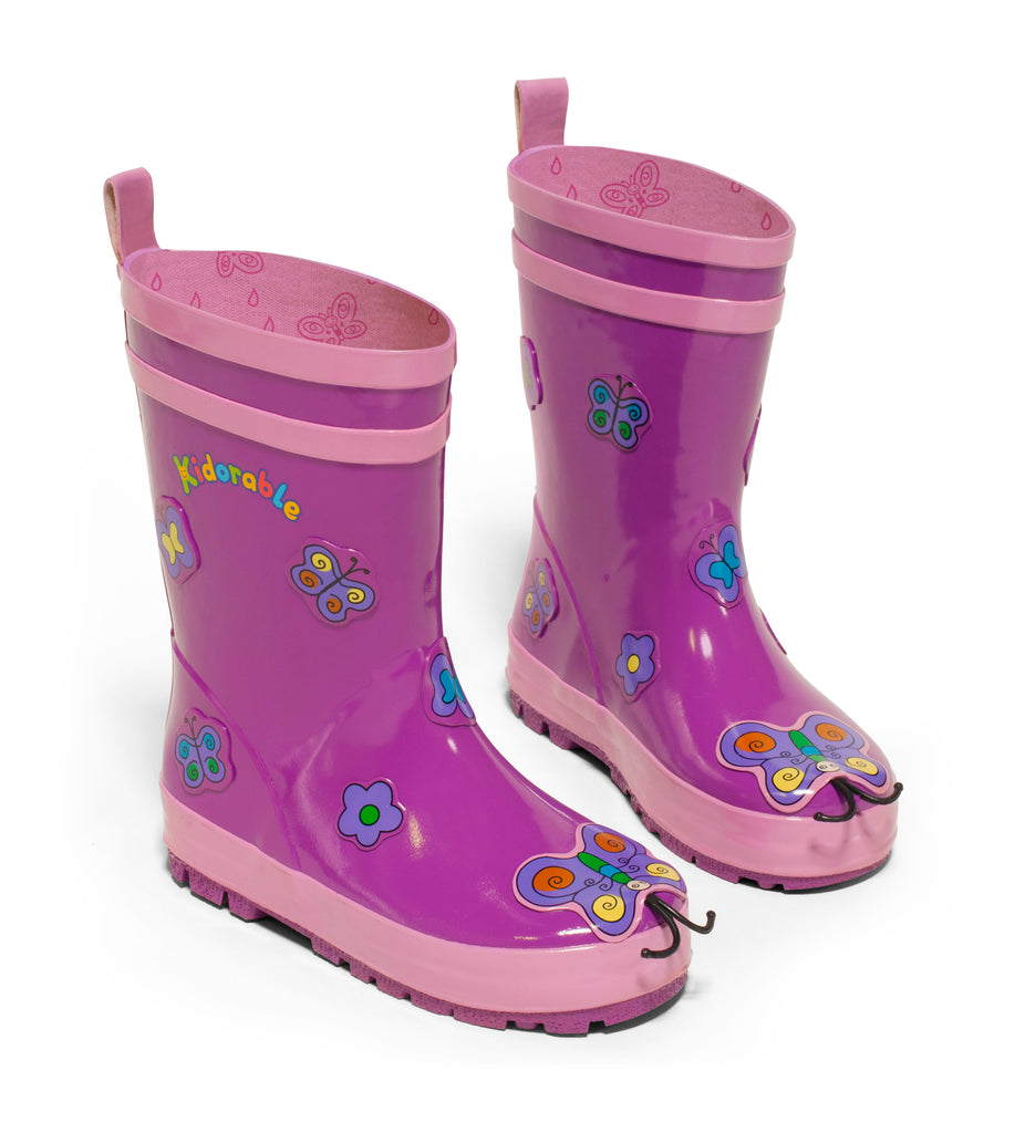 Butterfly Rainboots