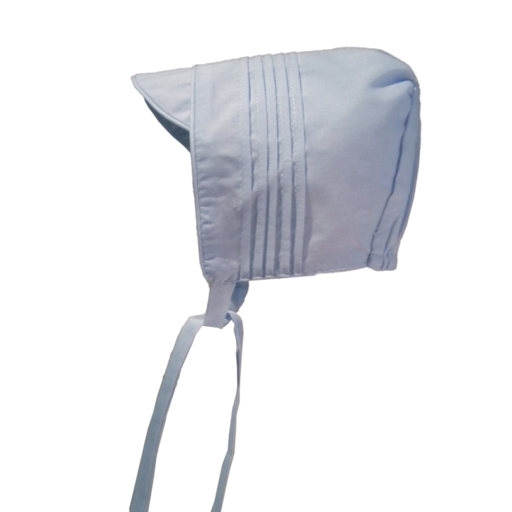 Boys Pleated Bonnet