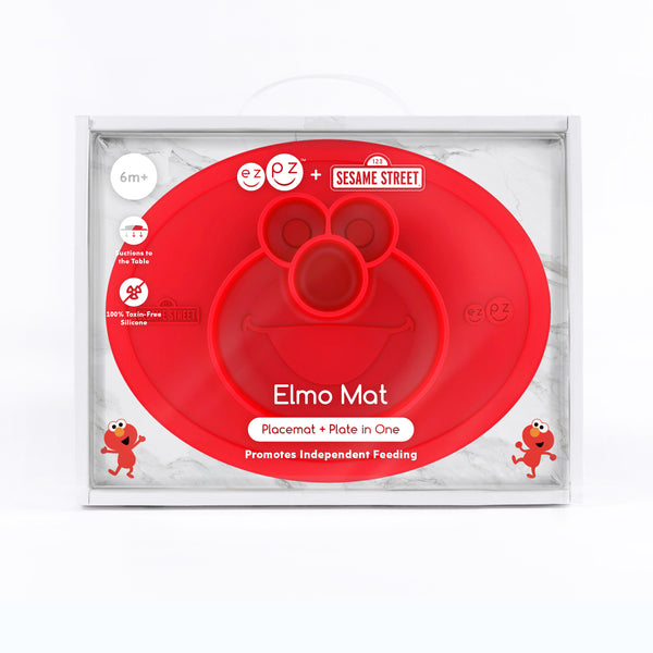 Elmo Eating Mat