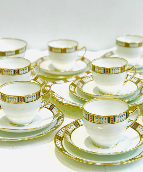 Royal Standard Art Deco Tea Set