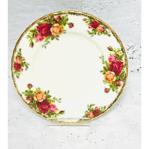 Tea Plate  - Royal Albert  - Old  Country Roses