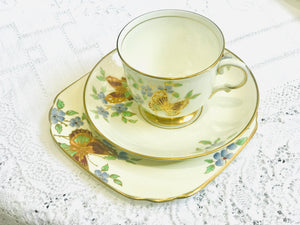 Tuscan Butterfly Tea cup set