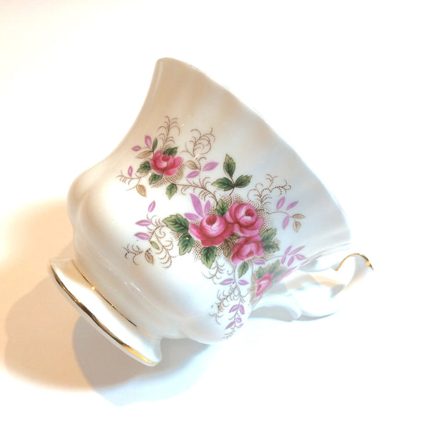 Royal Albert Tea cup & Saucer Trio Lavender Rose