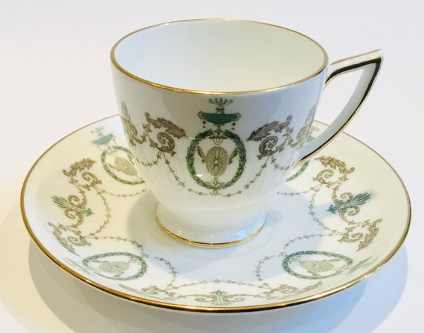 Minton Set of 5 Demitasse Espresso Cups