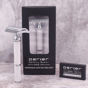 White Safety Razor - 70C