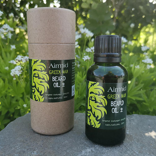 Green Man Beard Oil No.2