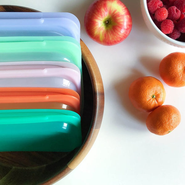 STASHER REUSABLE SILICONE SANDWICH BAGS