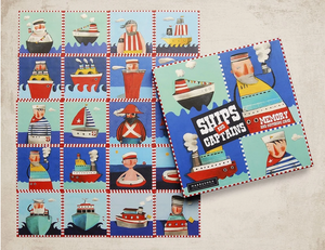 Ships & Captains - Memory Game for ages 3+