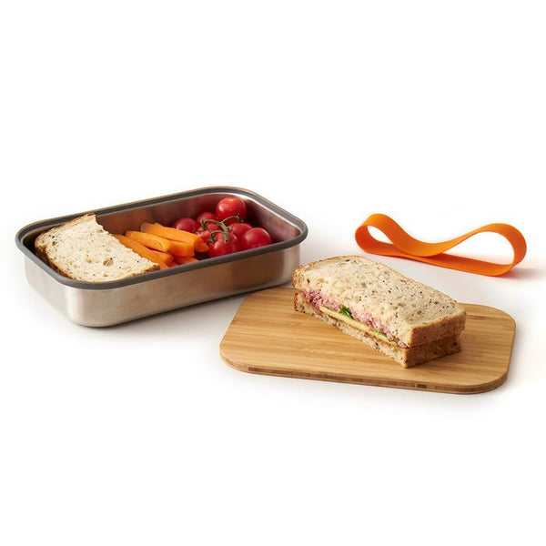 Stainless Steel Sandwich Box - Black & Blum