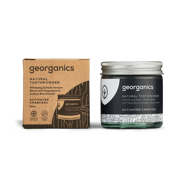 Georganics Toothpowder - Activated Charcoal