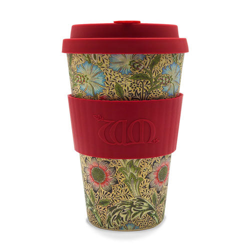 William Morris Ecoffee Cup Corncockle 14oz
