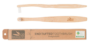 Go Bamboo - End Tufted Toothbrush