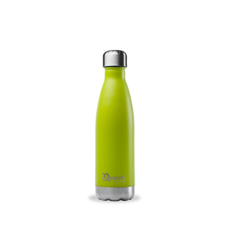Insulated Stainless Steel Bottle - Green Anise